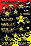 Factory Effex 15-68700 Mylar Rockstar Energy Sticker Sheet