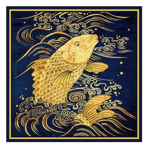 - Orenco Originals Golden Carp Asian Folk Art Counted Cross Stitch Pattern