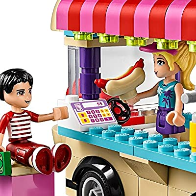 LEGO Friends Amusement Park Hot Dog Van 41129: Toys & Games
