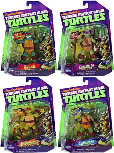 teenage mutant ninja turtles new figures