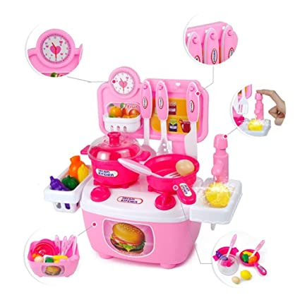 Amazon.com: WEEKEND SHOP Pretend Play Toys Kitchen Toys for Kids ...