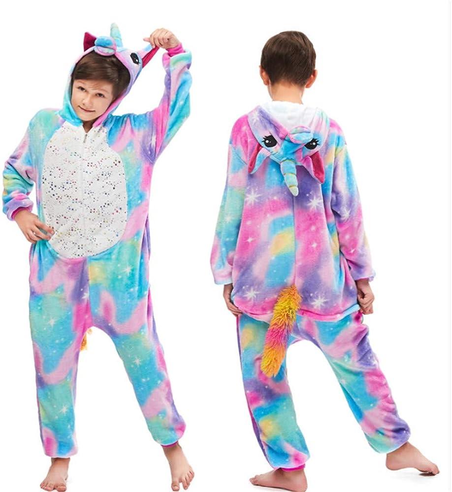 Animal Onesie Playsuit Robe Girls Boys Bathrobe Plush Super Soft ZYEZI Kids Flannel Dressing Gown with Hood