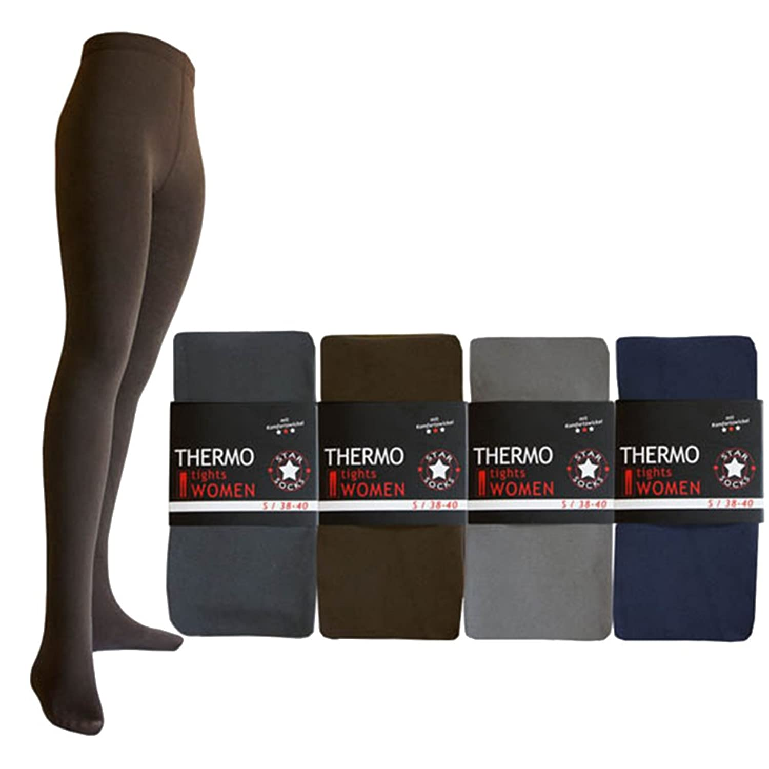 1 piece thermal tights uni soft and warm