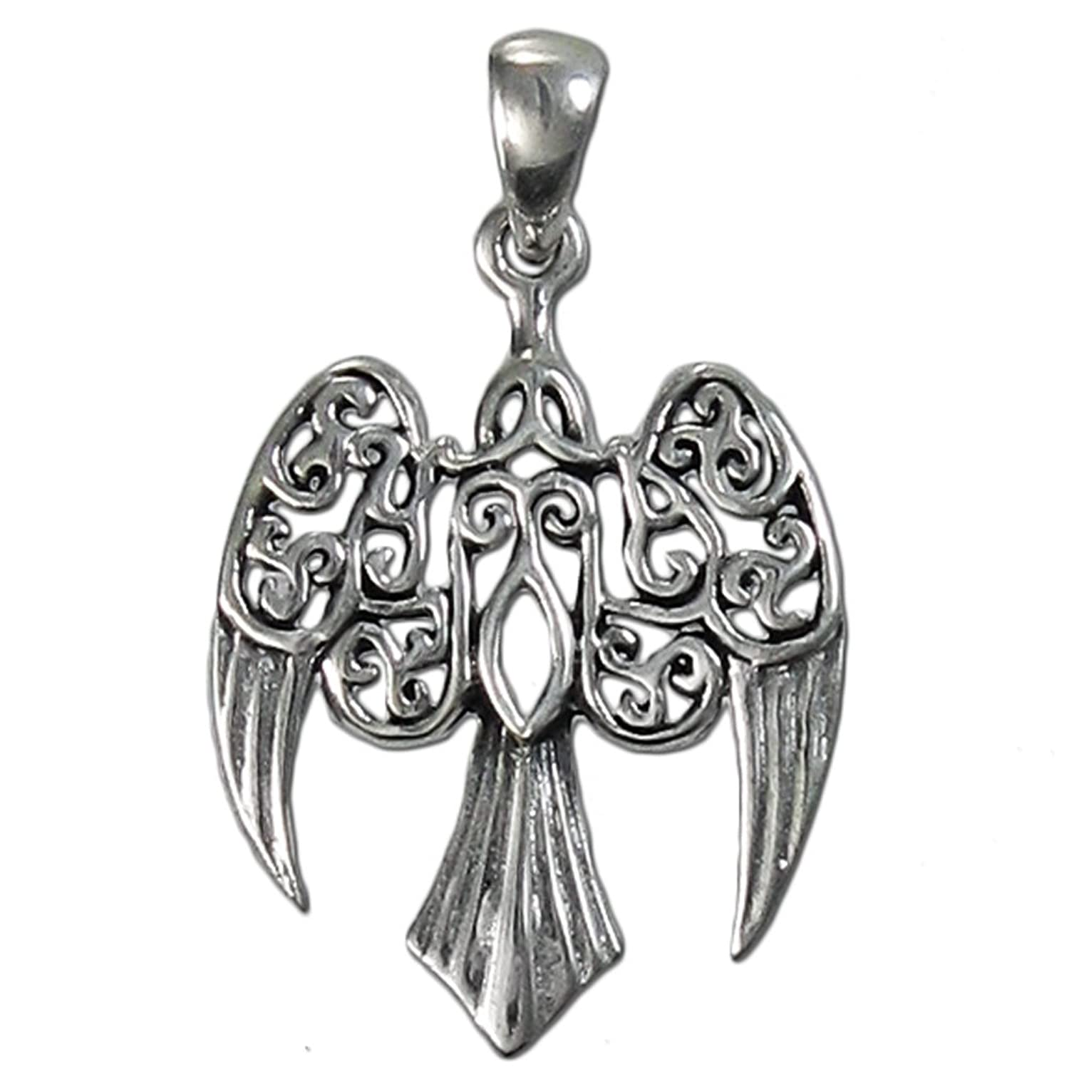 Amazon sterling silver small morrigan raven pendant morigan amazon sterling silver small morrigan raven pendant morigan pendant jewelry aloadofball Choice Image