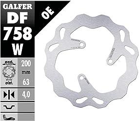 GALFER Wave Bremsscheibe DF186 W KBA hinten starr,