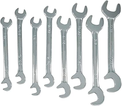 Mini Double Spanner Set 7 Piece 900 New Boxed