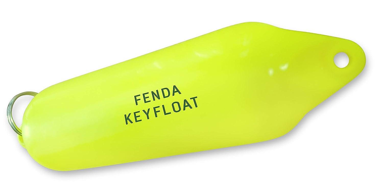 FENDA Flotador para Llaves, 5 Llaves, 16 cm de Largo x 4 cm, Redondo, Color Amarillo Brillante: Amazon.es: Deportes y aire libre