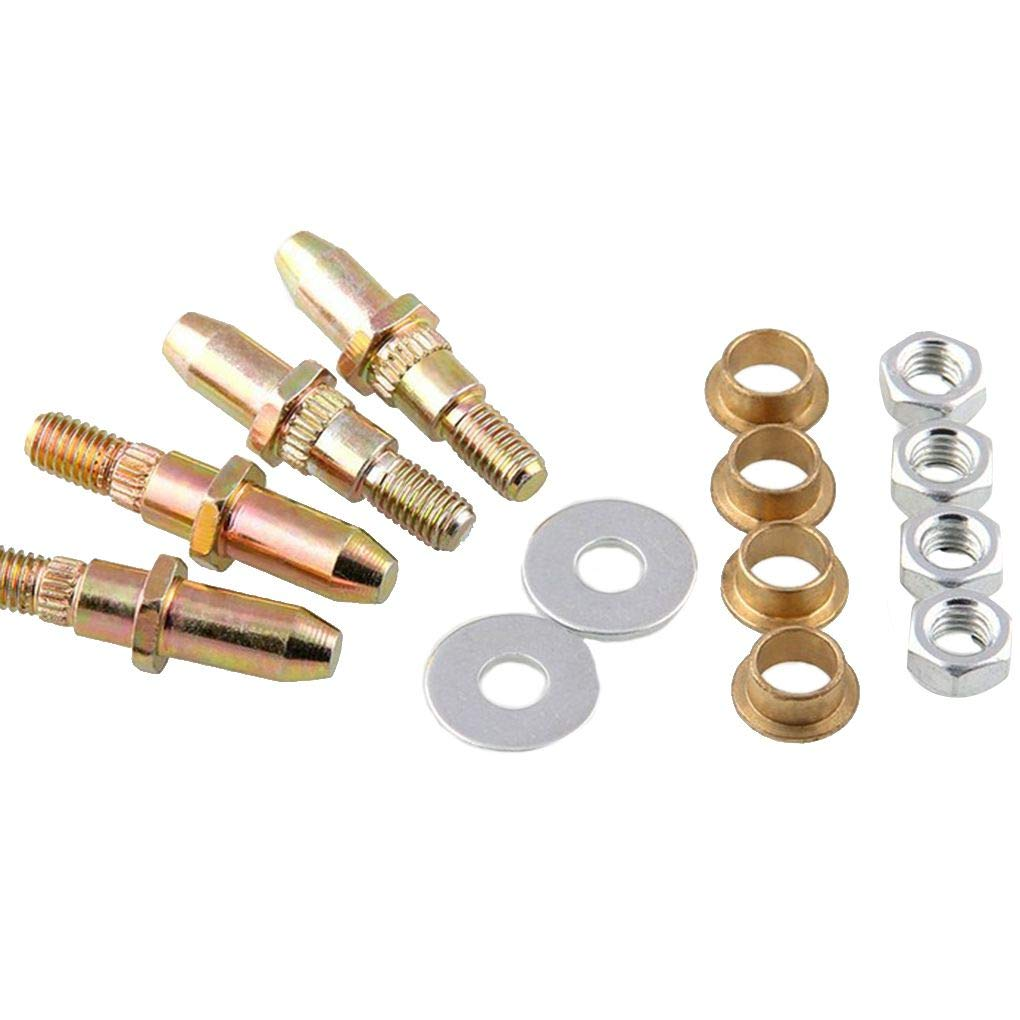2pcs Door Hinge Pin Bushing Kits Replacement for Silverado GMC Sierra 1999-2007 19299324 Topker
