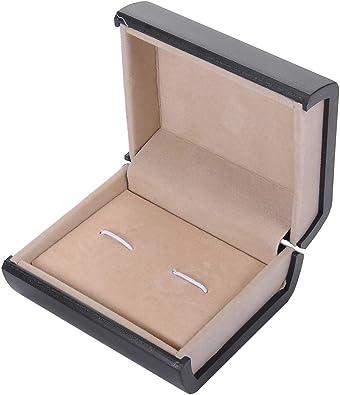 KY Jewelry Caja de Almacenamiento para Gemelos, diseño de Navidad ...