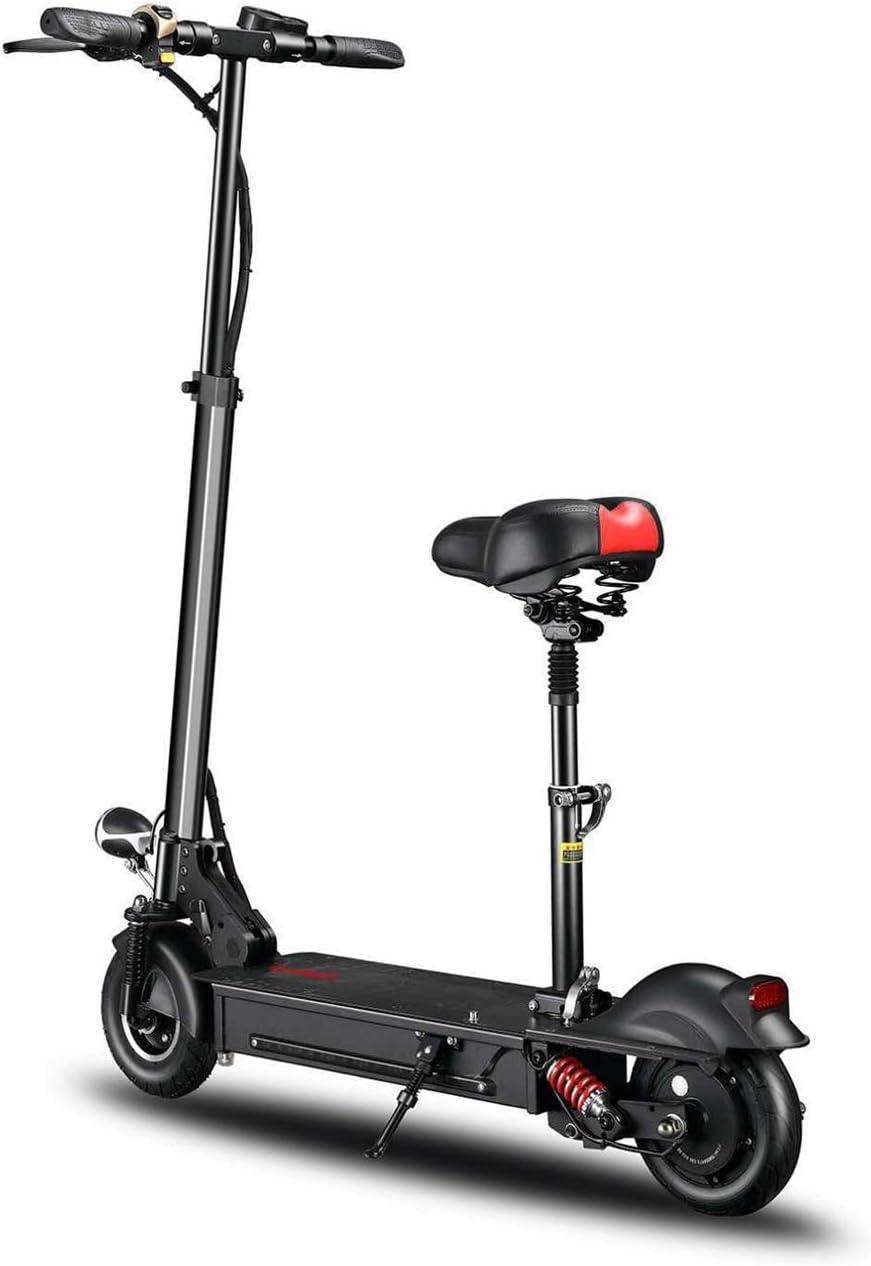 Z-HBMT Scooters Eléctricos Plegables para Adolescentes, Carga Máxima De 200 Kg con Asiento 8 Pulgadas 35 Km/H, Batería De Litio 36V 18AH 80 Km De Rango, Juguete para Exteriores