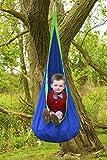 Sorbus Kids Child Pod Swing Chair - Hanging Seat