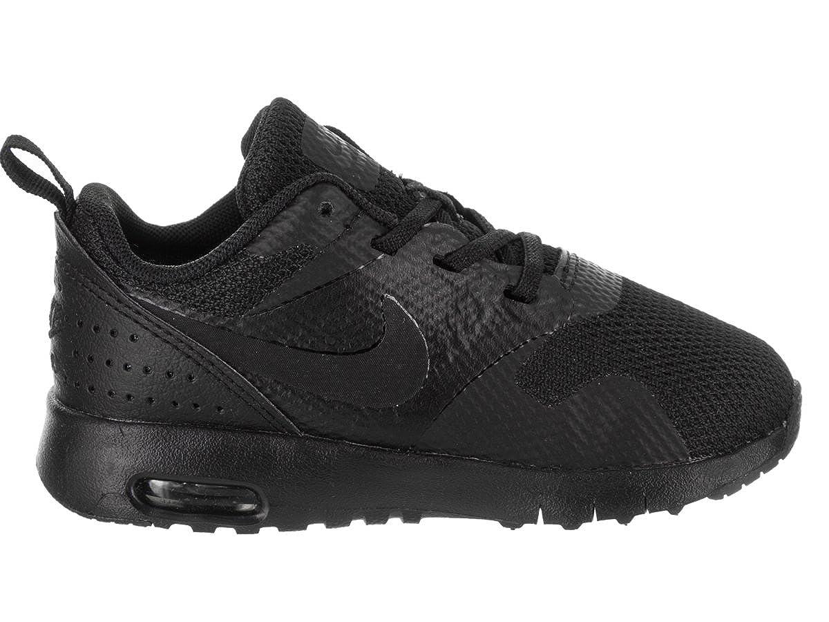 new styles 4a415 05cc7 Amazon.com   Nike 844106-005 Kids Toddler AIR MAX Tavas (TDE) Black    Sneakers