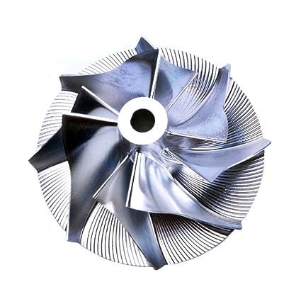 Amazon.com: Turbo Billet Compressor Wheel For IHI Daihatsu RHF3 VQ38 (25/36.95) 4+4 blade: Automotive
