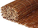 BooGardi willow mat · sightprotection mat in 18 sizes (100 x 500 cm) · willow fence mat for garden, balcony and terrace