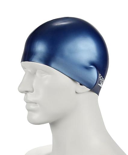 84c518f172a Amazon.com   Speedo Plain Moulded Silicone Swim Cap for Juniors ...