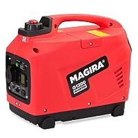 MAGIRA 1,2kW Stromerzeuger Inverter, 1200W Digital Benzin Aggregat in 11 Varianten: 0,8kW - 7,0kW