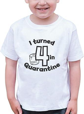 7 ate 9 Apparel Kids Seven Birthday Quarantine Shirt