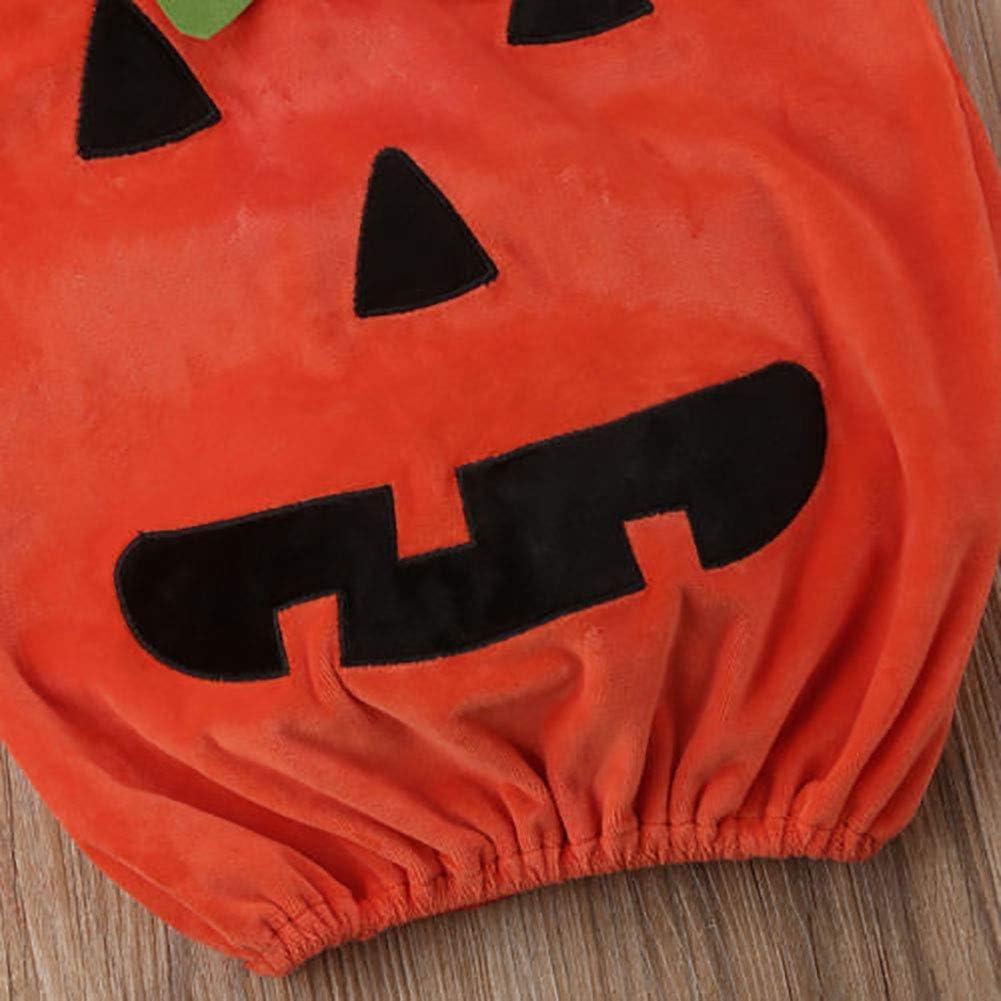 Carolilly Costume Halloween B/éb/é Gar/çon//Fille Ensemble Citrouille Mignon D/éguisement Cosplay Photographie