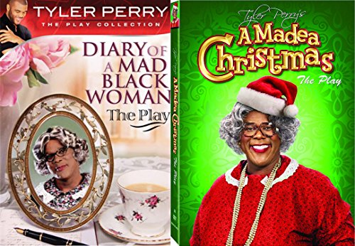 Tyler Perry's Diary of a Mad Black Woman The Play & A Madea Christmas The Play 2-Comedy DVD Bundle