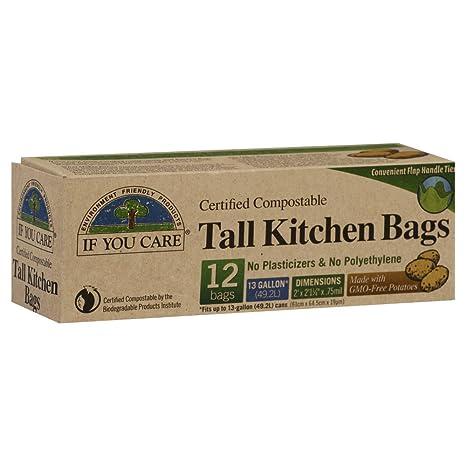 If You Care - certificado bolsas compostables cocina alto ...