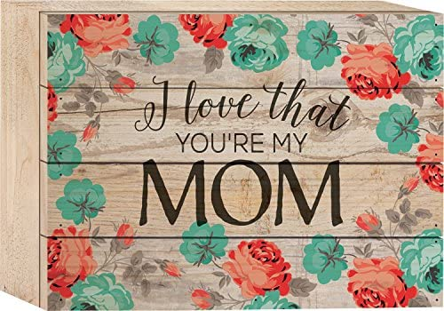P Graham Dunn I Love That You Re My Mom Watercolor Rose Wallpaper