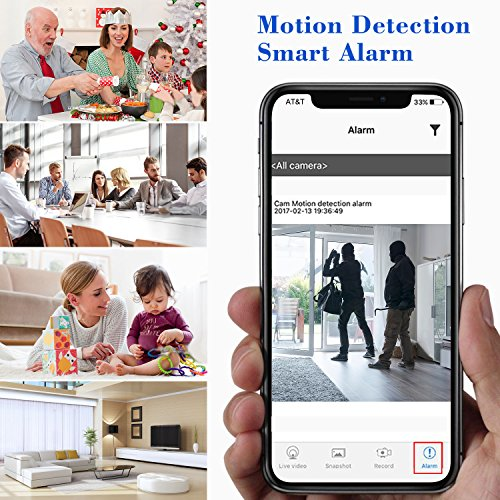 Spy Camera 1080P Hidden Mini Camera Wifi Wireless Small Portable Security Cameras with Motion Detection Indoor Outdoor for Home Office