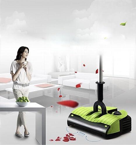 Smart Sweeper Robot Handheld Aspirador Hogar Inalámbrico Eléctrico Sweeper Escoba Eléctrica,Verde,220 *