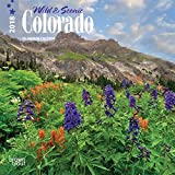 Colorado, Wild & Scenic 2018 7 x 7 Inch Monthly Mini Wall Calendar, USA United States of America Rocky Mountain State Nature