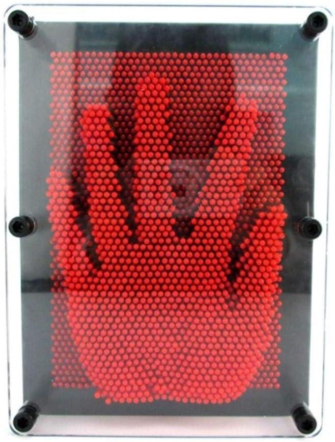 WHRP-sculpture Estatuas Esculturas Decoración Arte 3D Escultura DIY Aguja Talla Mágica Estatuilla Molde Escritorio Juguete Decoración Decorativa Habitación Adorno Decoración para El Hogar, Rojo, XL: Amazon.es: Hogar