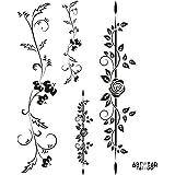 "Tatuaggio Temporaneo ArtWear Tattoo ""Multi Roses Design"""