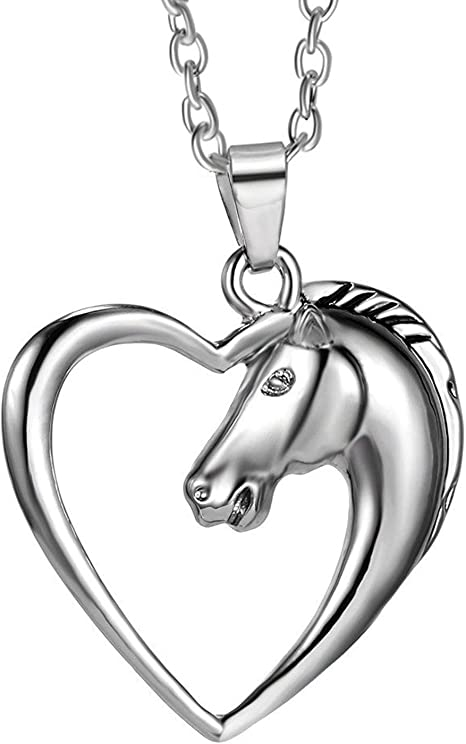 Horse Jewelry Horse Photo Locket Jewelry Sterling Silver Handmade Horse Photo Locket EQU16-T