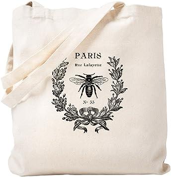 Animal Script Tote Bag in Natural