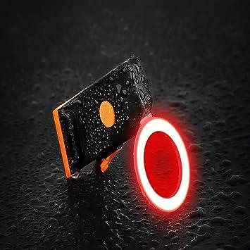 Fengyj LED Luz Bicicleta USB Recargable Impermeable La Luz Trasera ...
