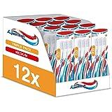 Aquafresh Clean Spazzolino e flex Medium, 12 confezioni da 3 spazzolini per confezione