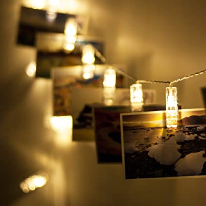 String Lights With Clips Interesting Amazon Veesee 60 Led Photo Clips String LightsUSB Powered 6060