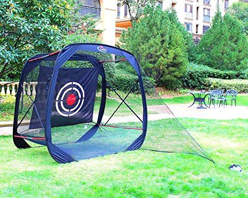 7'x7'x4' Golf net   golf hitting net  golf driving net golf training net for indoor&outdoor  portable golf driving netting with ()