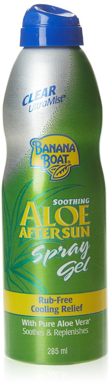 Banana Boat UltraMist Aloe After Sun Spray Gel, 8 oz