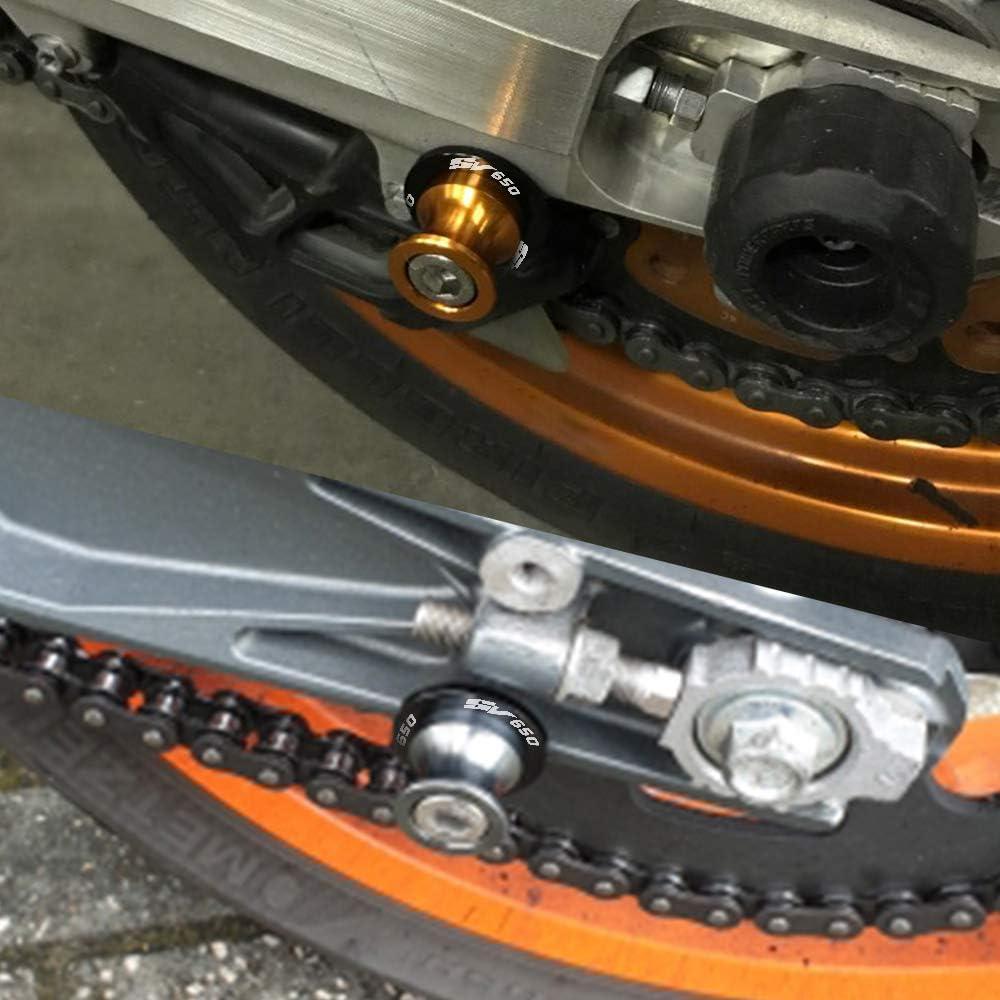 SV650 Bar Finisce Grip CNC Mano Tappi Manubrio End 2 pz Per SUZUKI SV650 SV 650 SV650S SV650A SV650X-Titanio