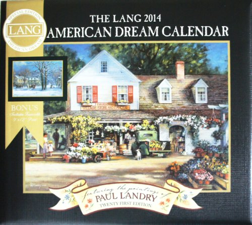 2014 The Lang American Dream Special Edition Wall - 2015 Wall Art Calendars Folk