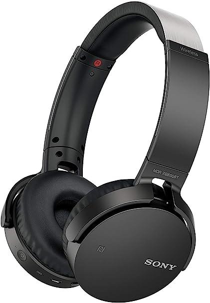 Amazon Com Sony Mdrxb650bt B Extra Bass Bluetooth Headphones Black Home Audio Theater