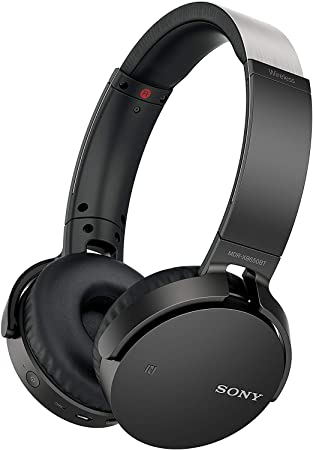 Sony MDR XB650BT Wireless Extra Bass Headphones with 30 Hours Battery Life, Headset with mic for Phone Calls with Voice Assitant and 1 Year Warranty –