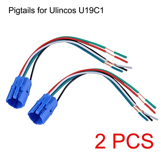 Amazon.com: NOT FIT U19D1, 19mm Pigtail, Wire Connector, Socket Plug ...