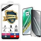 """Película De Privacidade Vidro Temperado Para Xiaomi Mi 10T e Mi 10T Pro com Tela 6.67"""" Polegadas - Proteção Anti Impacto E Cu"""