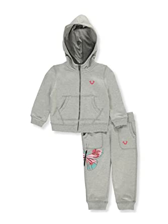 23b6d35d3 Image Unavailable. Image not available for. Color  True Religion Baby Girls   2-Piece French Terry Tracksuit ...