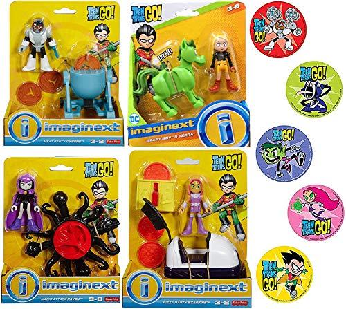 Imaginext 4X Go Super Hero Teen Titans