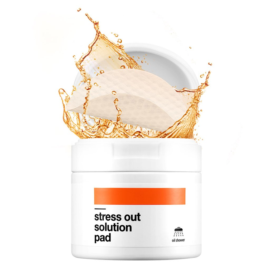 [BELLAMONSTER] Stress Out Solution Pad 155ml 70ea / 3D Embossed Vitamin A Carrot Seed Oil Pad Removes Dead Skin Cells and Red Spots, Acne Relief, Skin's Strength Enhancement for Dull Skin by BELLAMONSTER