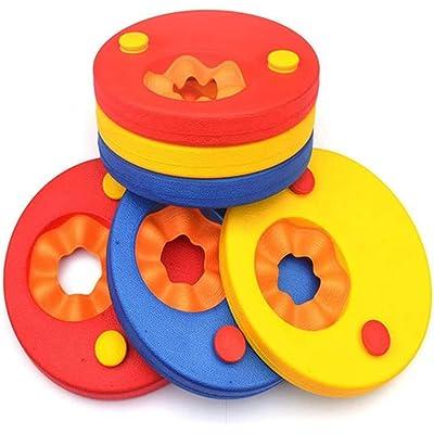 Manguitos de natación para niños, Hechos de Espuma, Flotador Bebe Piscina Discos Flotantes Manguitos de natación para niños-6pcs