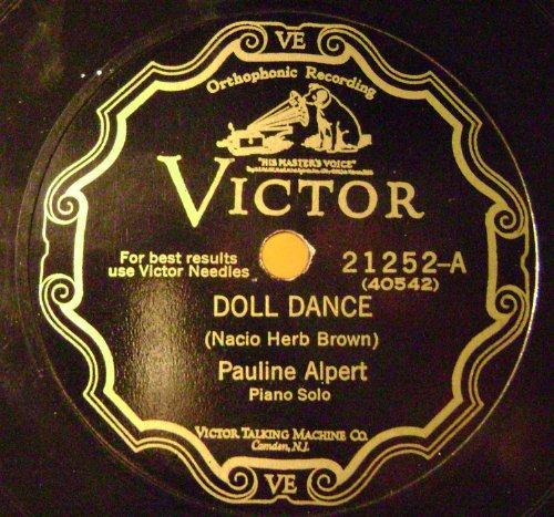 Doll Dance/Dancing Tambourine 78 RPM