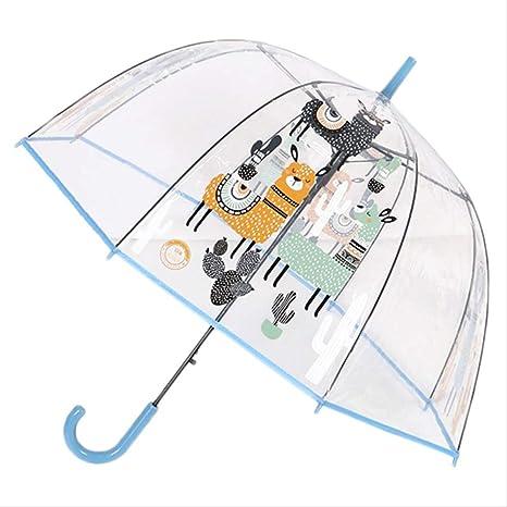 GLQA Paraguas Paraguas para Niños Unicornio Paraguas ...