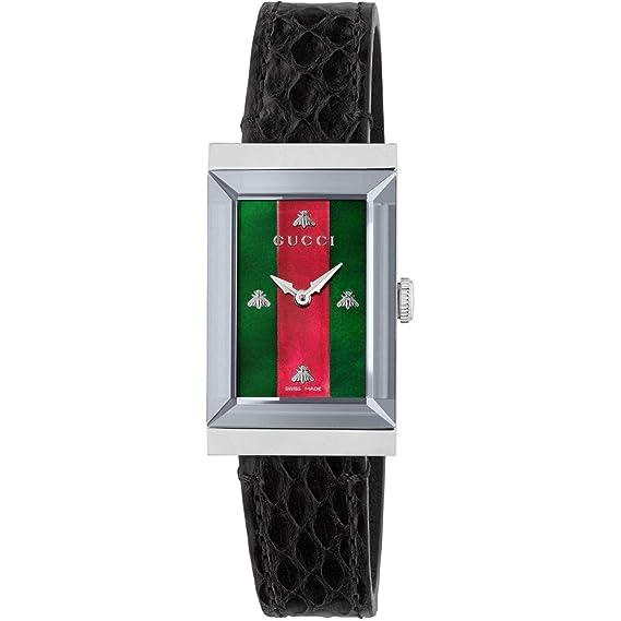 Reloj Gucci YA147403 Negro Acero 316 L Mujer